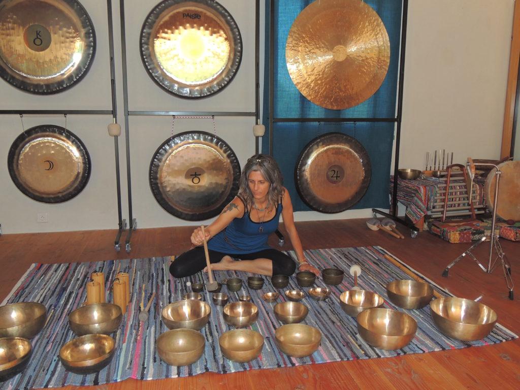 Stage de chant sacrés du Brésil et d'ailleurs et bains de gongs aux portes des Cévennes à 50mn de Montpellier