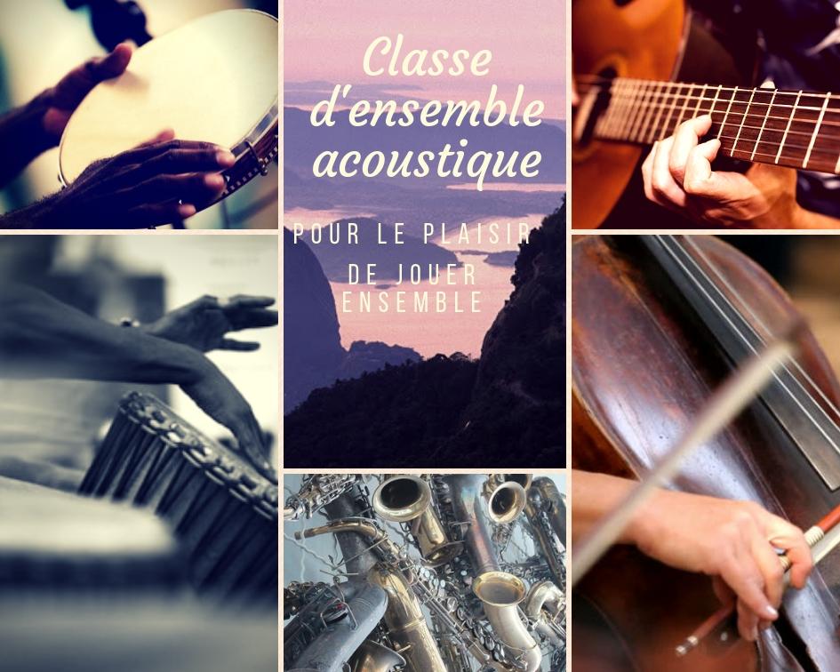 classe d'ensemble pour musiciens-voix et sons du monde